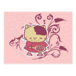 Camisetas y regalos del tenis del gatito postal