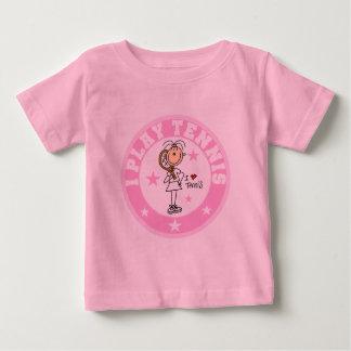 Camisetas y regalos del tenis del juego del chica