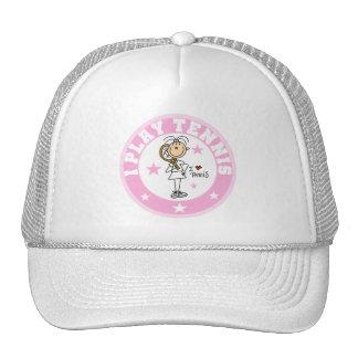 Camisetas y regalos del tenis del juego del chica gorra