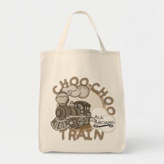 Camisetas y regalos del tren de Choo Choo Bolsa