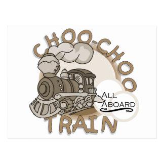 Camisetas y regalos del tren de Choo-Choo Postales