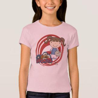 Camisetas y regalos del voleibol del chica de los