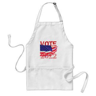 Camisetas y regalos del voto 2012 delantal