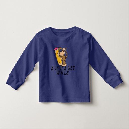 Camisetas y regalos del Whiz del alfabeto
