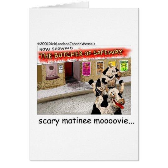 Camisetas y regalos divertidos asustadizos de Moov Tarjeta De Felicitación