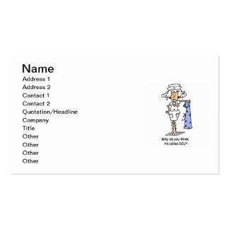 Camisetas y regalos divertidos de la enfermera de  tarjeta de visita