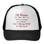 Camisetas y regalos divertidos de la enfermera del gorras