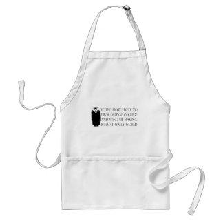 Camisetas y regalos divertidos de la graduación delantales
