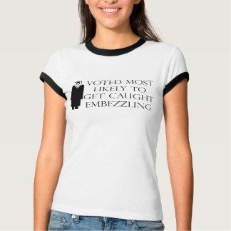 Camisetas y regalos divertidos de la graduación playera