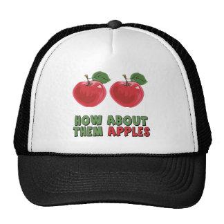 Camisetas y regalos divertidos de las manzanas par gorro