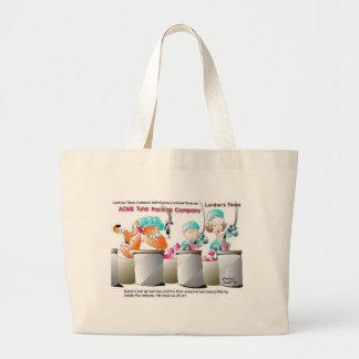Camisetas y regalos divertidos de las tazas de las bolsa de tela grande