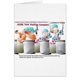 Camisetas y regalos divertidos de las tazas de las tarjeta de felicitación