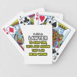 Camisetas y regalos divertidos del abogado cartas de juego