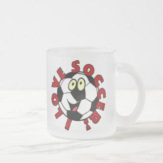 Camisetas y regalos divertidos del balón de fútbol tazas de café