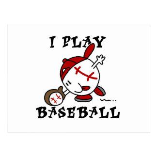 Camisetas y regalos divertidos del béisbol del jue postales