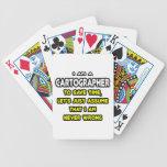 Camisetas y regalos divertidos del cartógrafo cartas de juego