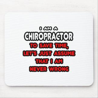 Camisetas y regalos divertidos del Chiropractor Tapete De Ratón