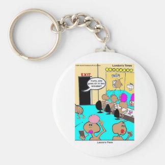 Camisetas y regalos divertidos del dibujo animado llavero