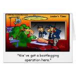 Camisetas y regalos divertidos del dibujo animado  tarjeta de felicitación