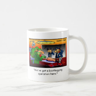 Camisetas y regalos divertidos del dibujo animado taza clásica