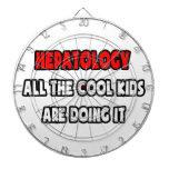Camisetas y regalos divertidos del Hepatologist Tabla Dardos