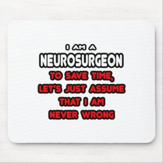Camisetas y regalos divertidos del neurocirujano mouse pad