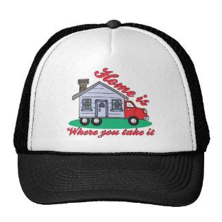 Camisetas y regalos divertidos del parque de carav gorro de camionero
