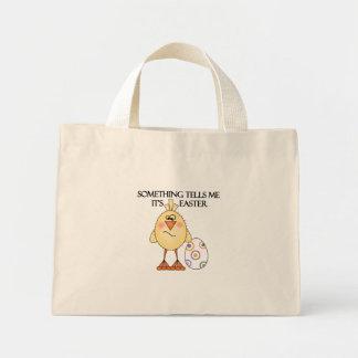 Camisetas y regalos divertidos del polluelo de bolsa tela pequeña