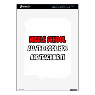 Camisetas y regalos divertidos del profesor de esc iPad 3 pegatinas skins
