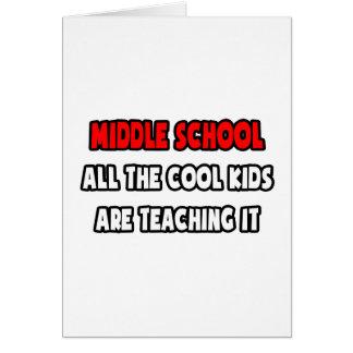 Camisetas y regalos divertidos del profesor de esc tarjeton