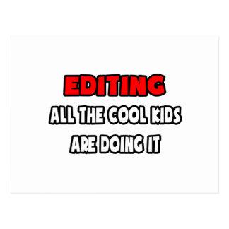 Camisetas y regalos divertidos del redactor postales
