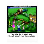 Camisetas y regalos divertidos del zoo-granja de R Tarjetas Postales