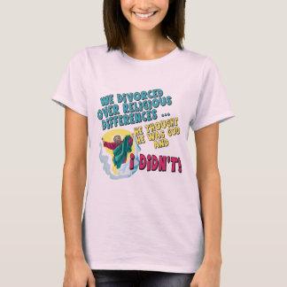 Camisetas y regalos divorciados divertidos para