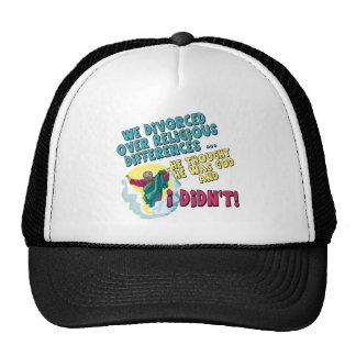 Camisetas y regalos divorciados divertidos para el gorra