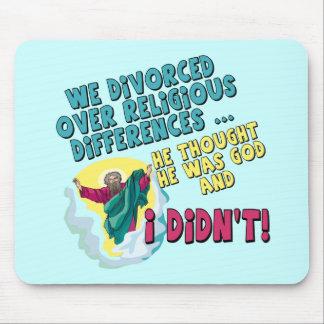 Camisetas y regalos divorciados divertidos para el tapetes de ratones