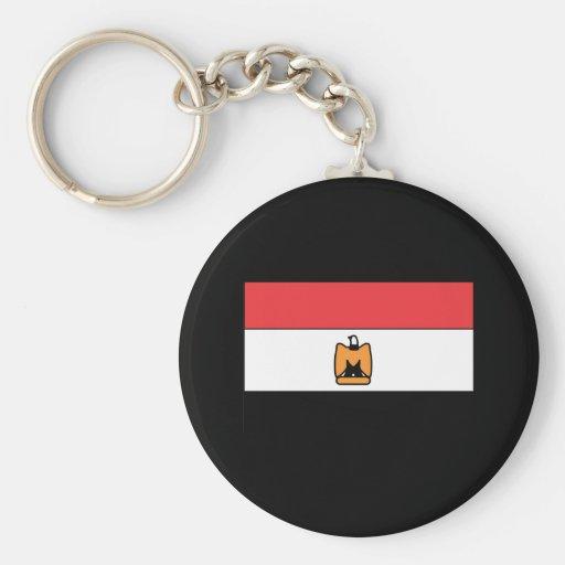 Camisetas y regalos egipcios de la bandera llaveros personalizados