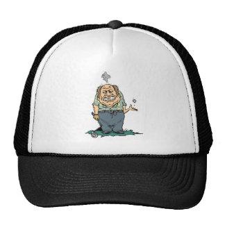 Camisetas y regalos enojados del golfista gorras