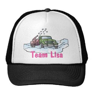 Camisetas y regalos - equipo Lisa del camionero de Gorras De Camionero