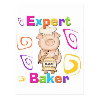 Camisetas y regalos expertos del panadero del postales