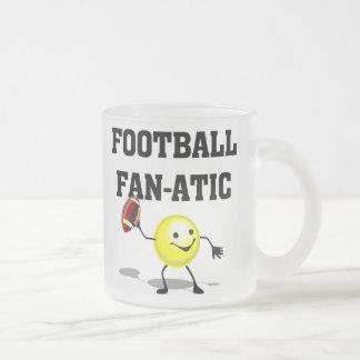 Camisetas y regalos fanáticos del fútbol taza de cristal