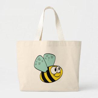 Camisetas y regalos felices amarillos de la abeja bolsas