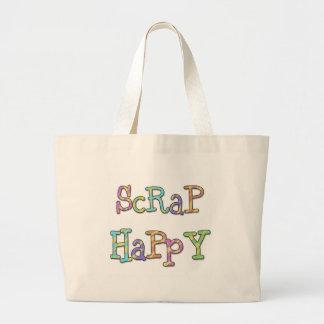 Camisetas y regalos felices del pedazo bolsa de mano
