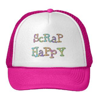 Camisetas y regalos felices del pedazo gorras de camionero
