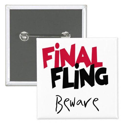 Camisetas y regalos finales de Bachelorette del Fl Pin