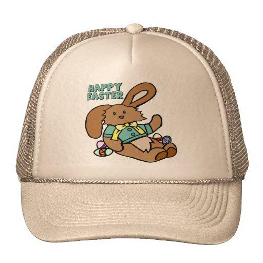 Camisetas y regalos frescos del conejito de pascua gorras de camionero