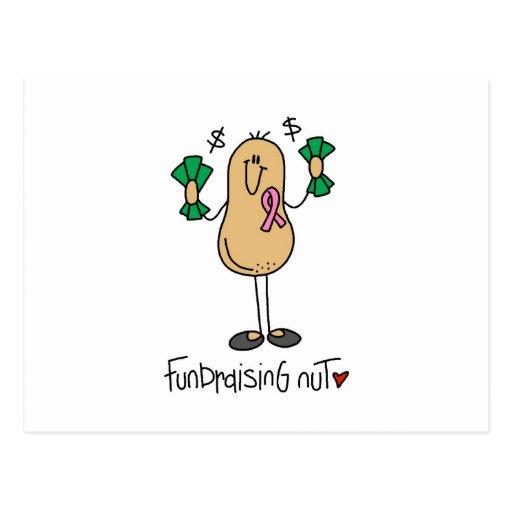 Camisetas y regalos Fundraising de la nuez Tarjeta Postal