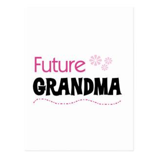 Camisetas y regalos futuros de la abuela postales