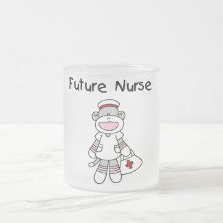 Camisetas y regalos futuros de la enfermera del mo tazas de café