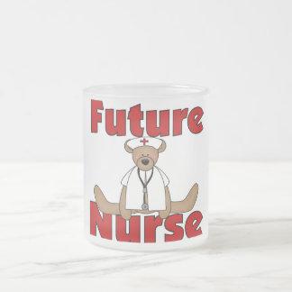 Camisetas y regalos futuros de la enfermera del os taza