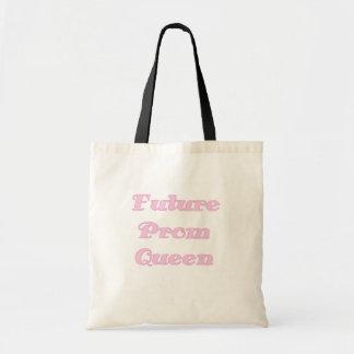 Camisetas y regalos futuros de la reina de baile bolsa tela barata